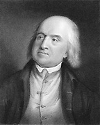 Jeremy Bentham (1748-1832) English social reformer and philosopher (Utilitarianism) A founder of University College, London. Engraving