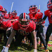 William Penn players prepare to take the field prior to a week two DIAA game between Middletown and William Penn, Saturday, Sept. 16, 2017 at Bill Cole Stadium in New Castle, DE.