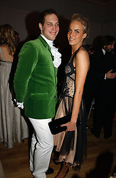 LORD FREDERICK WINDSOR and LADY LOUISA COMPTON at Andy & Patti Wong's annual Chinese New year Party, this year to celebrate the Year of The Pig, held at Madame Tussauds, Marylebone Road, London on 27th January 2007.<br /><br />NON EXCLUSIVE - WORLD RIGHTS
