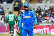 Dinesh Karthik of India during the ICC Cricket World Cup 2019 match between Bangladesh and India at Edgbaston, Birmingham, United Kingdom on 2 July 2019.