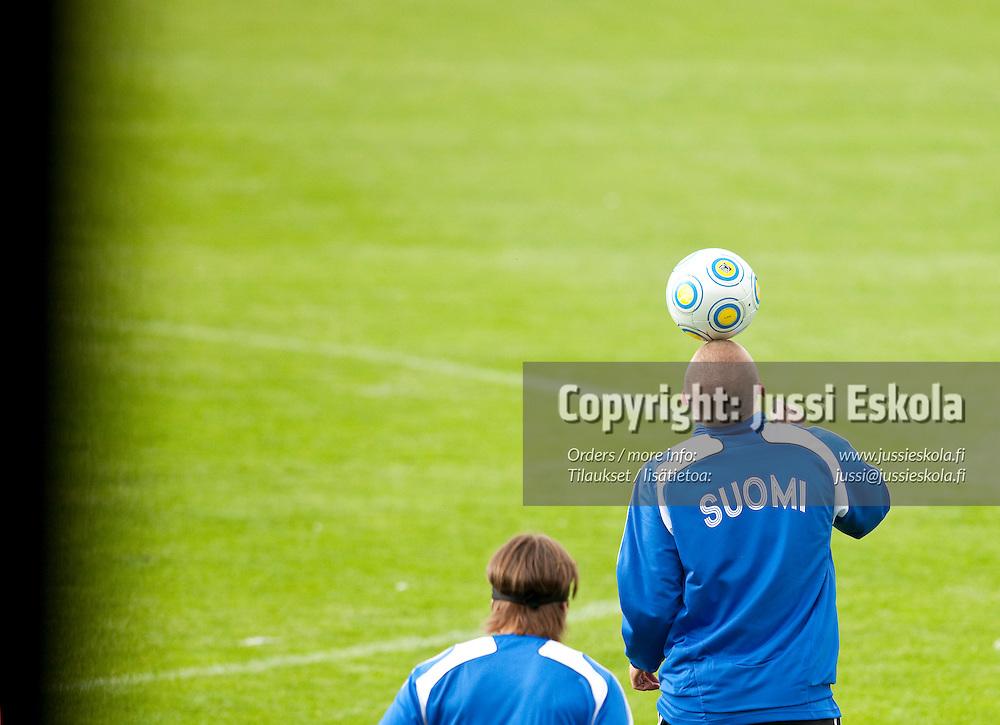 Aleksander Kokko. Alle 21-vuotiaiden maajoukkueen harjoitukset. Häckenin stadion, Göteborg, Ruotsi 20.6.2009. Photo: Jussi Eskola