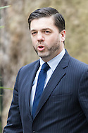 Wales Secretary Stephen Crabb arrives at the UK Cabinet meeting at Downing Street, London.<br /> Picture by Paul Davey/Focus Images Ltd +447966 016296<br /> 08/03/2016