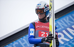 01.01.2016, Olympiaschanze, Garmisch Partenkirchen, GER, FIS Weltcup Ski Sprung, Vierschanzentournee, Probedurchgang, im Bild Daniel Andre Tande (NOR) // Daniel Andre Tande of Norway during his Trial Jump for the Four Hills Tournament of FIS Ski Jumping World Cup at the Olympiaschanze, Garmisch Partenkirchen, Germany on 2016/01/01. EXPA Pictures © 2016, PhotoCredit: EXPA/ Jakob Gruber