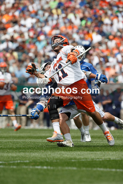 2013 May 27: Josh Dionne #8 of the Duke Blue Devils during a 16-10 win over the Syracuse Orange to win the NCAA national championship at Lincoln Financial Field in Philadelphia, PA.