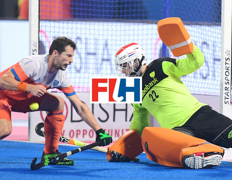 Odisha Men's Hockey World League Final Bhubaneswar 2017<br /> Match id:16<br /> Germany v Netherlands<br /> Foto: keeper Sam van der Ven (Ned) <br /> COPYRIGHT WORLDSPORTPICS FRANK UIJLENBROEK