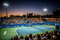 Centre court full of fans during  final match between Sergiy Stakhovsky (UKR) and Matteo Berrettini (ITA) of ATP Challenger Zavarovalnica Sava Slovenia Open 2017, on August 12, 2017 in Sports centre, Portoroz/Portorose, Slovenia. Photo by Vid Ponikvar / Sportida