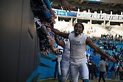 January 17, 2016: Carolina Panthers vs Seattle Seahawks.