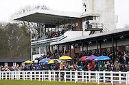 Plumpton, UK, 16th January 2017<br /> General view of the grandstand at Plumpton Racecourse.<br /> &copy; Telephoto Images / Alamy Live News