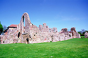 Ruins of Leiston Abbbey, Suffolk, England, UK Premonstratensian religious order, founded  c 1183 by Ranulf de Glanville