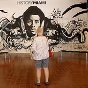 "History Miami Museum shows the diversity of South Florida. Miami is nicknamed the ""Capital of Latin America"".  Downtown is home to the largest concentration of international banks in the United States, and many large national and international companies. <br /> Photography by Jose More"
