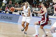DESCRIZIONE : Riga Latvia Lettonia Eurobasket Women 2009 Semifinal 5th-8th Place Italia Lettonia Italy Latvia<br /> GIOCATORE : Roberta Meneghel<br /> SQUADRA : Italia Italy<br /> EVENTO : Eurobasket Women 2009 Campionati Europei Donne 2009 <br /> GARA : Italia Lettonia Italy Latvia<br /> DATA : 19/06/2009 <br /> CATEGORIA : palleggio<br /> SPORT : Pallacanestro <br /> AUTORE : Agenzia Ciamillo-Castoria/E.Castoria<br /> Galleria : Eurobasket Women 2009 <br /> Fotonotizia : Riga Latvia Lettonia Eurobasket Women 2009 Semifinal 5th-8th Place Italia Lettonia Italy Latvia<br /> Predefinita :