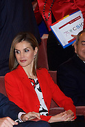 112414 Spanish Royals attends the CSIC 75th Anniversary