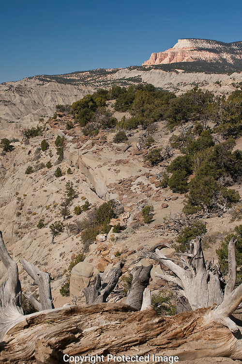 Table Cliff Plateau in the Grand Staircase-Escalante Utah.