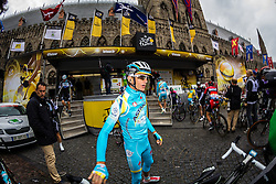 Scarponi, Tour de France, Stage 5: Ypres > Arenberg Porte du Hainaut, UCI WorldTour, 2.UWT, Wallers, France, 9th July 2014, Photo by Thomas van Bracht / Peloton Photos