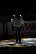 KELOWNA, CANADA - APRIL 07:  Marissa Baecker at the Kelowna Rockets game on April 07, 2017 at Prospera Place in Kelowna, British Columbia, Canada.  (Photo By Cindy Rogers/Nyasa Photography,  *** Local Caption ***
