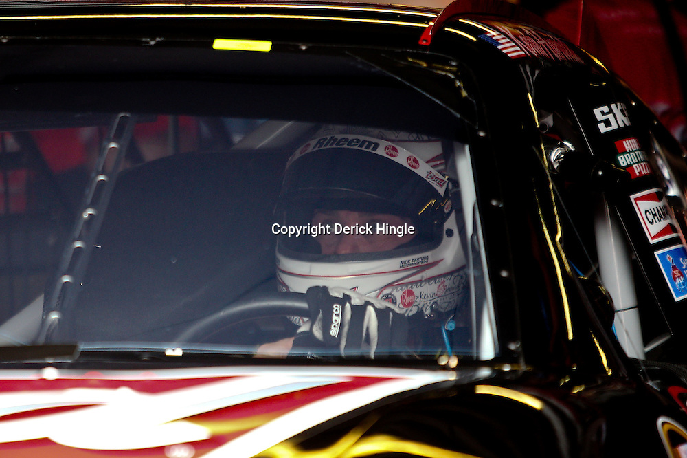April 15, 2011; Talladega, AL, USA; NASCAR Sprint Cup Series driver Kevin Harvick (29) before practice for the Aarons 499 at Talladega Superspeedway.   Mandatory Credit: Derick E. Hingle
