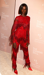 September 13, 2018 - New York City, New York, U.S. - Model DUCKIE THOT attends Rihanna's 4th Annual Diamond Ball held at Cipriani Wall Street. (Credit Image: © Nancy Kaszerman/ZUMA Wire)
