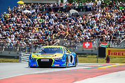 10.06.2017, Red Bull Ring, Spielberg, AUT, ADAC GT Masters, Spielberg, 1. Rennen, im Bild Dennis Busch (GER)/Marc Busch (GER) Twin Busch Motorsport // German ADAC GT Masters driver Dennis Busch/German ADAC GT Masters driver Marc Busch of Twin Busch Motorsport during the 1st race of the ADAC GT Masters at the Red Bull Ring in Spielberg, Austria on 2017/06/10. EXPA Pictures © 2017, PhotoCredit: EXPA/ Dominik Angerer