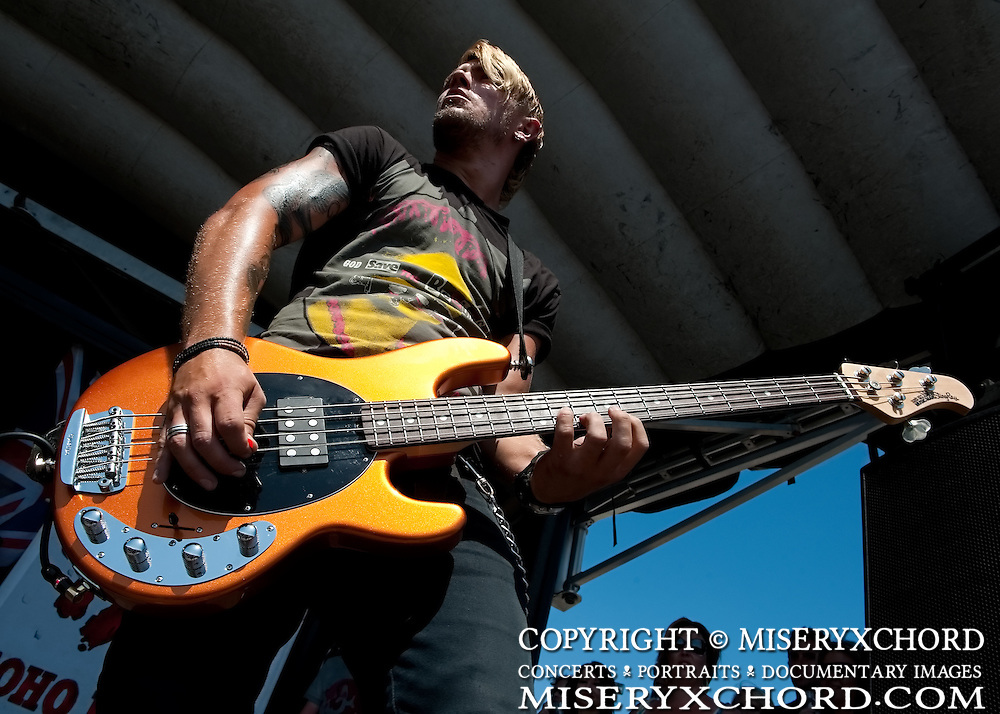 TAT performing at Warped Tour 2009 in Carson California USA on August 23 2009