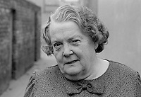 Maureen Smyth, candidate, West Belfast, Alliance Party of N Ireland, N Ireland Assembly Election, June 1973. 197306000315a<br /> <br /> Copyright Image from Victor Patterson, 54 Dorchester Park, Belfast, UK, BT9 6RJ<br /> <br /> t1: +44 28 9066 1296 (from Rep of Ireland 048 9066 1296)<br /> t2: +44 28 9002 2446 (from Rep of Ireland 048 9002 2446)<br /> m: +44 7802 353836<br /> <br /> e1: victorpatterson@me.com<br /> e2: victorpatterson@gmail.com<br /> <br /> The use of my copyright images is subject to my Terms & Conditions.<br /> <br /> It is IMPORTANT that you familiarise yourself with them. They are available on my website at www.victorpatterson.com.<br /> <br /> None of my copyright images may be used on a website unless they are visibly watermarked, i.e. © Victor Patterson within the body of the visible image. Metadata denoting my copyright must NOT be deleted. <br /> <br /> Web use (maximum size - 400 kb) is extra at currently recommended NUJ rates.