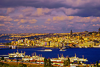 The Golden Horn, Istanbul, Turkey