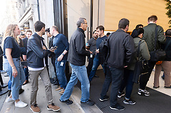 © Licensed to London News Pictures. 20/09/2019. London, UK. Customer enter the Apple Regent St store to purchase the new iPhone 11 mobile phone and Watch Series 5. Photo credit: Ray Tang/LNP