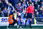 Leeds United midfielder Kalvin Phillips (23) during the EFL Sky Bet Championship match between Queens Park Rangers and Leeds United at the Kiyan Prince Foundation Stadium, London, England on 18 January 2020.