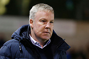 Kenny Jackett Manager of Portsmouth during the EFL Sky Bet League 1 match between Lincoln City and Portsmouth at Sincil Bank, Lincoln, United Kingdom on 28 January 2020.