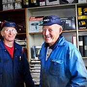 Hans Allansson och Allan Thorstensson till h&ouml;ger.<br /> FOTO: BOEL FERM