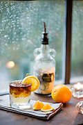 Dark and stormy recipe that we captured for Old Edwards Inn. This drink brings comfort and finding the right angle and setting is important when tell the story.