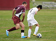 Cornwall-on-Hudson, New York - South Kent School plays New York Military Academy  a Hudson Valley Athletic League boys soccer game on Oct. 15, 2010.
