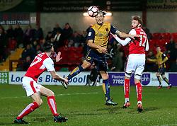 Milan Djuric of Bristol City in action - Mandatory by-line: Matt McNulty/JMP - 17/01/2017 - FOOTBALL - Highbury Stadium - Fleetwood,  - Fleetwood Town v Bristol City - Emirates FA Cup Third Round Replay