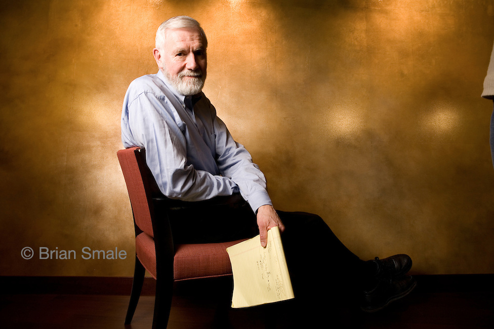 William (Bill) Foege, Senior Fellow at Bill and Melinda Gates Foundation.  Photographed at the Foundation's original location by Brian Smale, for Vanderbilt University's LENS Magazine.
