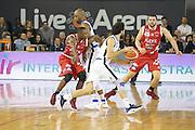 Michele Vitali<br /> Germani Basket Brescia Leonessa - The Flexx Pistoia Basket<br /> Lega Basket Serie A 2016/2017<br /> PalaGeorge 08/01/2017<br /> Foto Ciamillo-Castoria