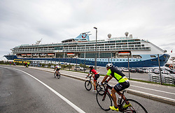 Athletes compete during Ironman 70.3 Slovenian Istra 2019, on September 22, 2019 in Koper / Capodistria, Slovenia. Photo by Vid Ponikvar / Sportida