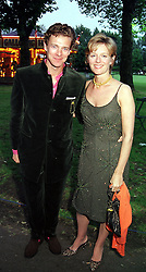 MR & MRS JAMES OGILVY, he is the son of Princess <br /> Alexandra, at a party in London on 3rd June 2000.OEZ 182<br /> © Desmond O'Neill Features:- 020 8971 9600<br />    10 Victoria Mews, London.  SW18 3PY <br /> www.donfeatures.com   photos@donfeatures.com<br /> MINIMUM REPRODUCTION FEE AS AGREED.<br /> PHOTOGRAPH BY DOMINIC O'NEILL