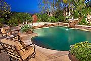 Custom Pool And Backyard