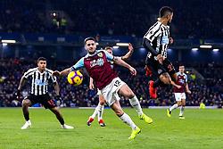 Robbie Brady of Burnley takes on DeAndre Yedlin of Newcastle United - Mandatory by-line: Robbie Stephenson/JMP - 26/11/2018 - FOOTBALL - Turf Moor - Burnley, England - Burnley v Newcastle United - Premier League