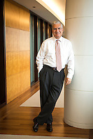 Nuveen CEO John P. Amboian Portrait for Nuveen annual report.