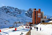 Residence Mongie-Tourmalet, La Mongie ski resort,  Bagnères-de-Bigorre, France.