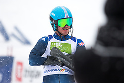 Whitley James of Great Britain during Slalom race at 2019 World Para Alpine Skiing Championship, on January 23, 2019 in Kranjska Gora, Slovenia. Photo by Matic Ritonja / Sportida