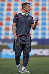 April 19, 2018 - Valencia, Valencia, Spain - Bardhi of Levante UD looks on prior to the La Liga game between Levante UD and Malaga CF at Ciutat de Valencia on April 19, 2018 in Valencia, Spain  (Credit Image: © David Aliaga/NurPhoto via ZUMA Press)