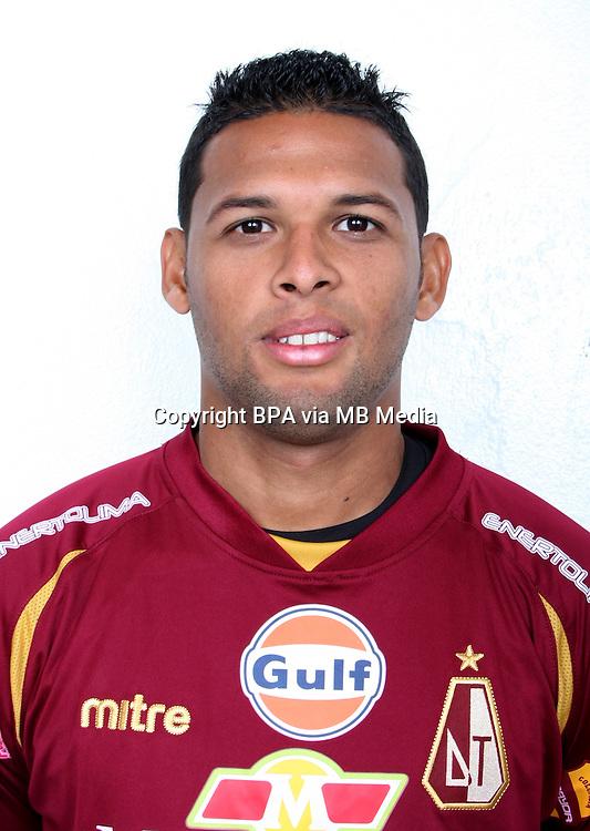 Colombia League - Postobom Liga 2014-2015 -<br /> Club Deportes Tolima - Colombia / <br /> Felix Noguera