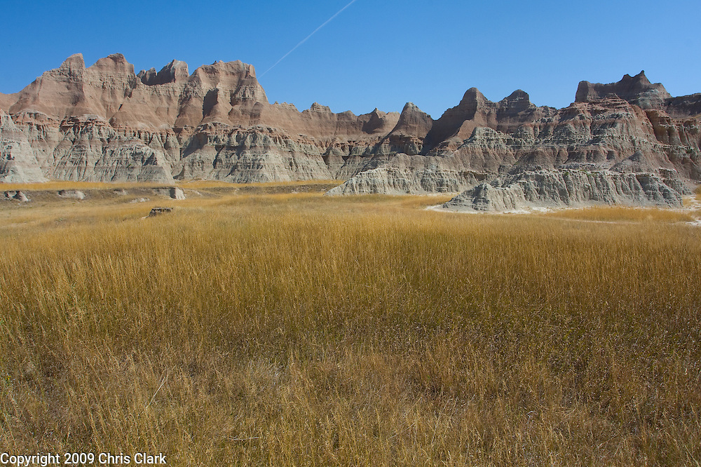 Badlands National Park, South Dakota.