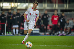 March 21, 2019 - Vienna, Austria - Krzysztof Piatek of Poland runs to the ball during the UEFA European Qualifiers 2020 match between Austria and Poland at Ernst Happel Stadium in Vienna, Austria on March 21, 2019  (Credit Image: © Andrew Surma/NurPhoto via ZUMA Press)