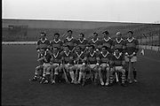 MInor Hurling, Kerry v Antrim.  .Kerry Team, the winners..05.10.1969.