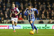 Brighton & Hove Albion winger Anthony Knockaert (11) during the EFL Sky Bet Championship match between Brighton and Hove Albion and Aston Villa at the American Express Community Stadium, Brighton and Hove, England on 18 November 2016. Photo by Phil Duncan.