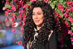 © Licensed to London News Pictures. 16/07/2018. London, UK. Cher attends the Mamma Mia! Here We Go Again World Film Premiere at Eventim Apollo Hammersmith. Photo credit: Ray Tang/LNP