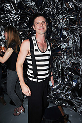 JAKE SHEARS male lead vocalist for the American music group Scissor Sisters at a party to celebrate the launch of Bang a new male fragrance by Marc Jacobs held at the Fith Floor Restaurant, Harvey Nichols, Knightsbridge, London on 22nd July 2010.