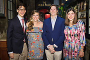 Family celebrates the 50th wedding anniversary of Be-Be and Ken Adatto at Antoine's Restaurant in New Orleans on August 12, 2017; photo ©2017, George H. Long, all rights reserved